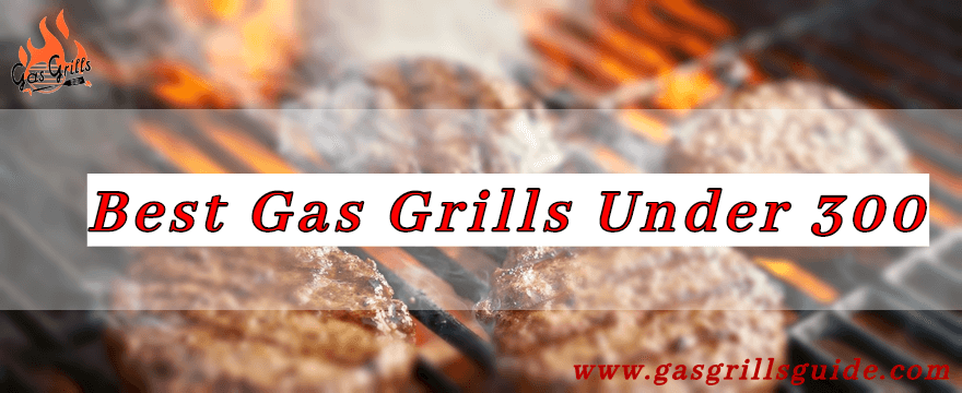 Best Gas Grill Under 300 For Beginners & Pro Grillers – Top 7 in 2020